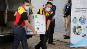 Honduras recibirá esta semana 1,5 millones de vacunas bajo el mecanismo Covax