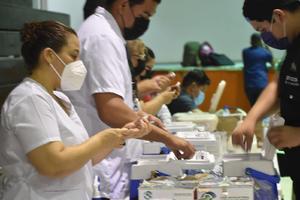400 trabajadores de 30 a 39 años al interior de AHMSA están a la espera de la vacunación antiCOVID-19