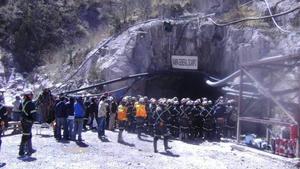 Derrumbe en mina deja 2 trabajadores muertos en Ocampo, Coahuila