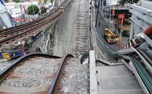Concluyen trabajos en tramo colapsado de Línea 12