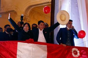 AMLO: Nos da muchísimo gusto triunfo de Pedro Castillo en Perú