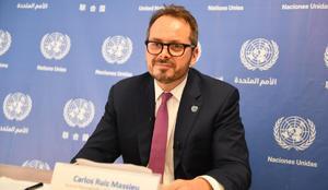 Representante de la ONU en Colombia espera manifestaciones pacíficas
