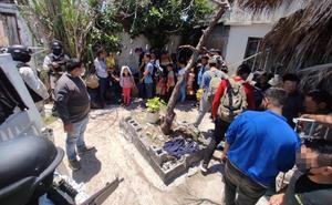 Rescatan a 55 migrantes retenidos en Tamaulipas