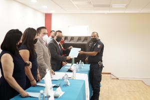Los Policías de Castaños reciben curso especializado de justicia