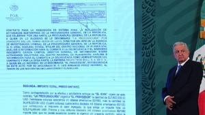 AMLO: Se entregará información de contratos sobre 'Pegasus' a FGR