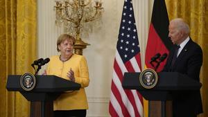 Estados Unidos permite que Alemania complete su gasoducto a cambio de apoyo a Ucrania