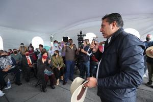 Alcalde de Toluca retira plantón