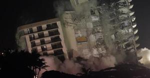 Las víctimas del derrumbe del edificio en Miami recibirán indemnización de 150 mdd