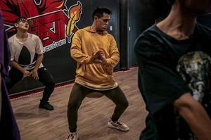 Edwin Rubio: 16 años dedicados al baile y la enseñanza