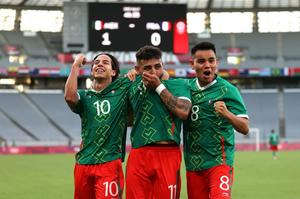 México golea 4-1 a Francia bajo la batuta de un brillante Lainez en los Juegos Olímpicos de Tokio