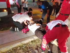 Hombre termina lesionado en las Torres de Monclova al ser atropellado