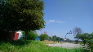 Plaza y kínder de la colonia 5 de abril de Monclova en completo abandono