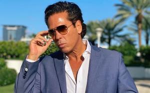 El actor Roberto Palazuelos presenta su colección de ropa en México