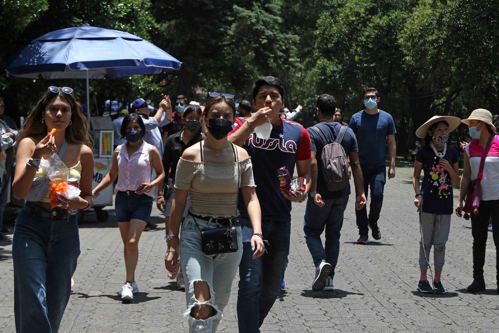 Registra México 6 mil 535 nuevos contagios