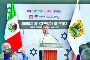 4 mdd en expansión de FYMSA, y  la generación de 400 nuevos empleos