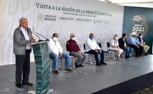 AMLO presenta propuesta para concluir presa El Zapotillo
