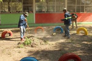 Jardín de Niños Guelatao está  listo para las clases hibridas