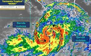 Evacúan 30 comunidades como medida preventiva por Huracán 'Nora'