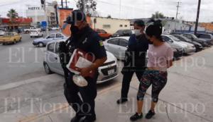 Mujer es consignada al MP por robo en Monclova