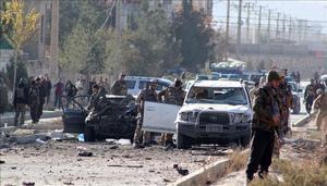 EU lanza un ataque en Kabul contra vehículo con supuestos miembros del 'EI'