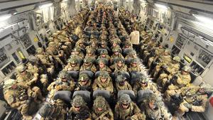 EU. evacúa a 2.900 personas de Kabul, menos que en días anteriores