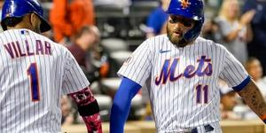 El puertorriqueño Báez y el dominicano Villar, claves en triunfo de Mets