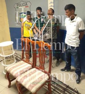 Sujetos pretendían robar muebles de domicilio en Monclova