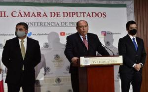 Rubén Moreira presidirá la JUCOPO en San Lázaro