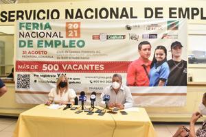 La Feria Nacional del Empleo  ofertará casi 800 vacantes