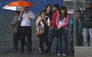Se esperan lluvias en el Valle de México