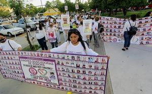 Madres Buscadoras de Sonora marchan por sus hijos desaparecidos