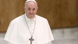 El papa dijo respecto a su reciente operación: 'Un enfermo me salvó la vida'