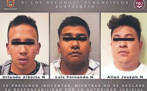 Encarcelan a sujetos que dispararon a chofer de combi en Naucalpan