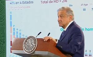 'No contamos con apoyo', dice AMLO sobre la violencia en Guanajuato