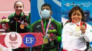 Los mexicanos que se han colgado una medalla en los Paralímpicos de Tokio 2020