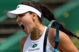 La colombiana María Camila Osorio debuta con triunfo y pasa a segunda ronda