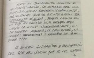 'Mi detención fue humillante'; AMLO revela carta que Salvador Cienfuegos le mandó de puño y letra