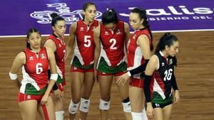 Selección de Voleibol perdió ante Puerto Rico