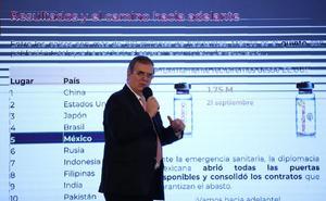 EU enviará más de 6 millones de vacunas contra Covid: Marcelo Ebrard