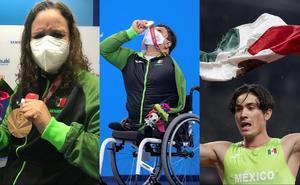 México supera marca de 300 medallas en Juegos Paralímpicos