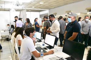 La feria del empleo promueve 800 trabajos; en la Región Centro faltan 5 mil por recuperar