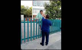 Mujer intenta escapar de hospital del IMSS en Campeche