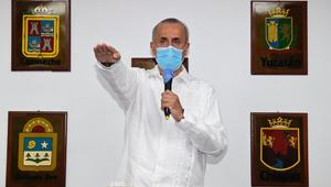 Carlos Merino toma protesta como gobernador interino de Tabasco