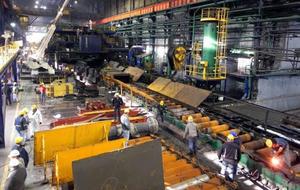 Obreros de AHMSA preparan incremento en producción de acero