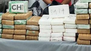 100 kilos de cocaína fueron decomisados en Allende, NL y detienen a dos sujetos
