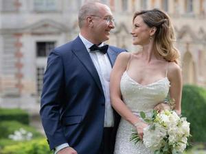 La actriz Altair Jarabo celebra boda con Frédéric García