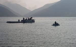 Autoridades encuentran el cuerpo del menor que volcó su lancha en la presa 'La Boca' de Santiago, Nuevo León