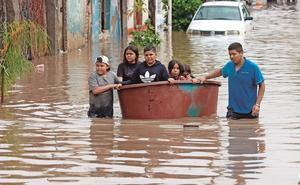 Inundación daña más de 500 casas en Tlaquepaque