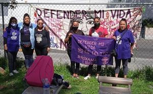 Nos queremos vivas, red de vecinas que lucha por libertad de Roxana