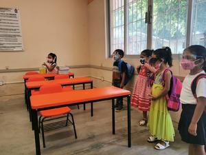 Sin reporte de casos de Covid en escuelas de Oaxaca